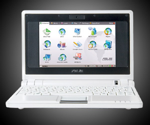 Test portable Asus Eee PC