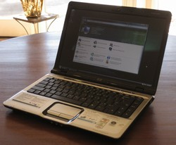 Test portable HP dv2610 Dell Latitude D620