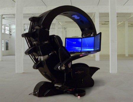 La vraie chaise du geek ultime 40 000 dollars accessoires - Chaise de bureau gaming ...