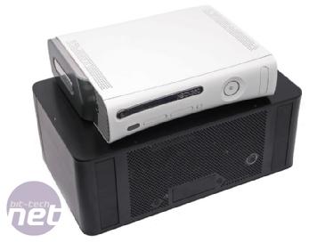 le boitier lian li pour la xbox 360 test bo tiers racks. Black Bedroom Furniture Sets. Home Design Ideas
