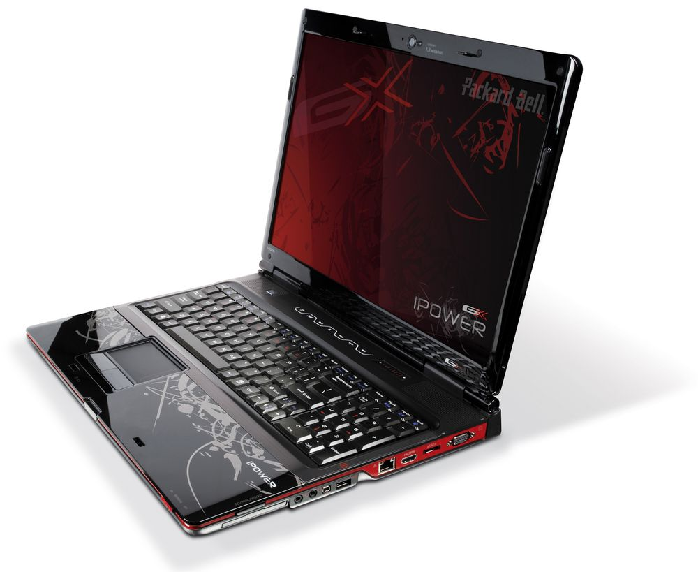 un vrai portable gamer int ressant chez packard bell. Black Bedroom Furniture Sets. Home Design Ideas