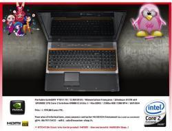 portable Gamer Gateway P7811 FX en X9000 dispo en France