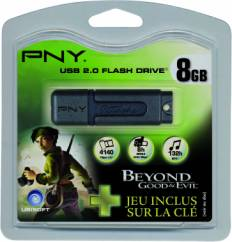 clé USB PNY + jeu Beyond Good and Evil