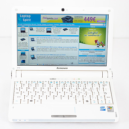 Test Netbook Lenovo S10 3G Bouygues