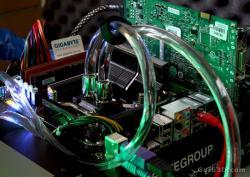 Test kit watercooling Aquagate Max Cooler Master