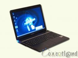 Test portable 15.4 pouces Medion Akoya S5610