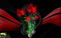 fond d'écran Cowcotland Floralis