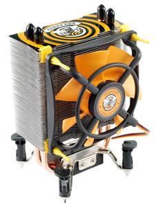Evercool propose aussi des ventirads tout jaune, pour plus de classe