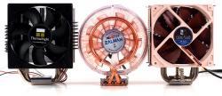 3 ventirads CPU test