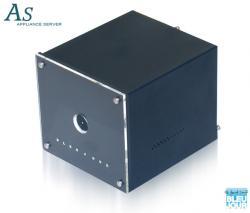 Un boitier ITX qu'il a la classe, avec en plus tout plein de place HDD