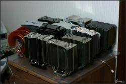 Une petite quinzaine de ventirads CPU, pour se faire plaisir