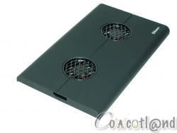 Test notebook Cooler Enermax Cavalier
