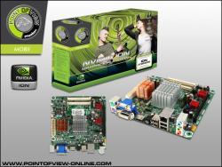 ATOM et PCI-E 16x aussi chez Point of View