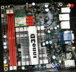 Inno3D et sa carte Mini-ITX ION, mieux que Zotac ?
