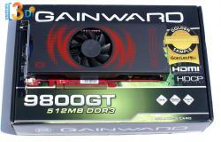Test 9800 GT Gainward GLH
