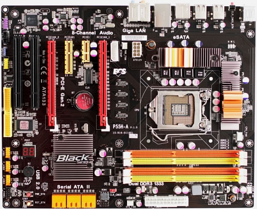 Carte mère P55 ECS Black Series