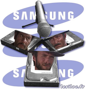 test 3 HDD Samsung