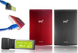 SSD HDD externes USB 3.0 PQI