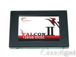 Test SSD G.Skill Falcon II 128 Go