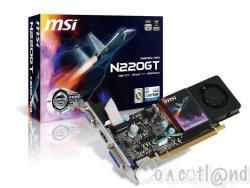 MSI : une GT220 1 Go en Low Profile