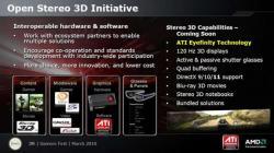La 3D selon AMD
