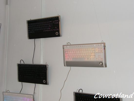 [CeBIT 2010] Les claviers Luxeed ? Simplement terribles