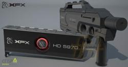 Une 5970 black Edition chez XFX