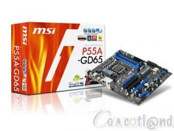 MSI P55A-GD65 SATA III USB 3.0