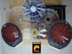 6 Ventilateurs de 170 à 220 mm