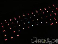 Clavier Luxeed U5, 100 % Illuminated, 100 % Geek