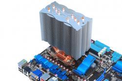 En vrac : six radiateurs pour ton processeur, avec le silence en ligne de mire
