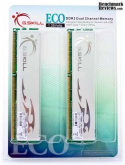Un test de DDR3 G-skill à la mode écolo