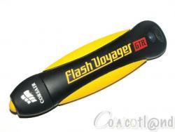 test clé USB 2.0 Corsair Flash Voyager GTR