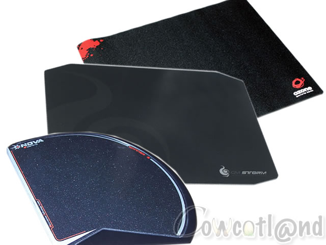 quatre tapis de souris pour le gamer claviers souris tapis de souris. Black Bedroom Furniture Sets. Home Design Ideas