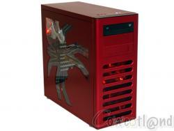 Test boitier Lian Li PC8-FIR Spider Edition