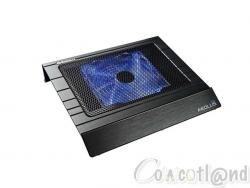 Test Notebook Cooler Enermax Aeolus N14 Cowcotland