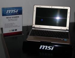 Le U160DX de MSI se laisse tenter par la DDR3.