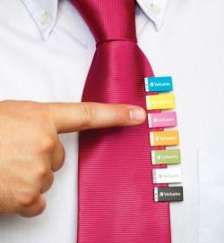 Verbatim crée la pince à cravate ultime