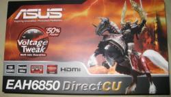 Des photos de la DirectCU HD 6850 d'Asus