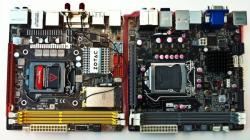 ECS H67H2-I et Zotac H67-ITX en face à face