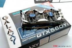 Geux GTX 560 qui ont du style chez Galaxy