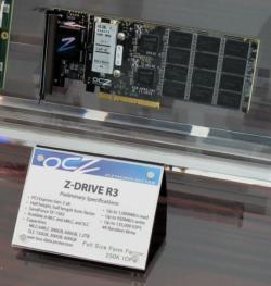 OCZ au CES : du vertex 3 et du Z-Drive R3