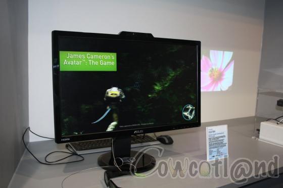 Cebit 2011 asus un gros cran 3d 27 pouces ecrans for Ecran nec 27 pouces