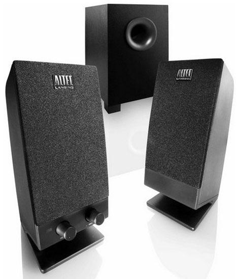 altec lansing un kit 2 1 pas cher enceintes. Black Bedroom Furniture Sets. Home Design Ideas