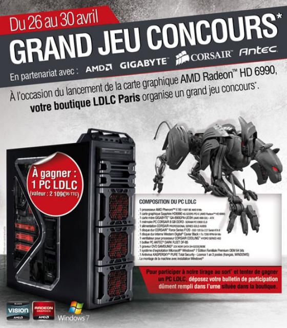 ldlc vous fait gagner un pc gamer pc mini pc. Black Bedroom Furniture Sets. Home Design Ideas