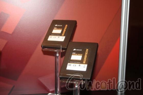 [CES 2012] Corsair passe aussi au Hybrid SSD