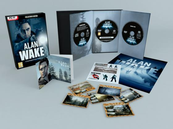 Alan Wake se dévoile en collector