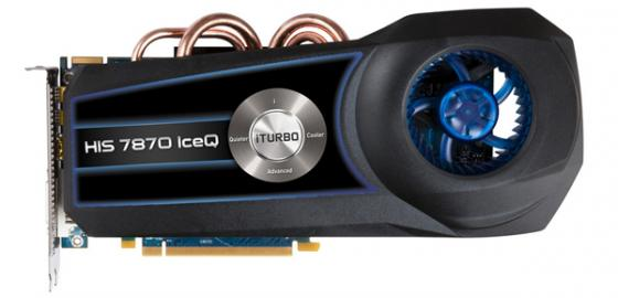 HIS HD 7870 IceQX iTurbo : Impressive