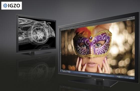 Du 4k chez sharp ecrans moniteurs for Meilleur moniteur 4k