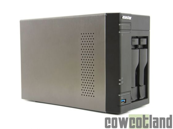 cowcotland test nas asustor as 602t